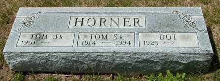 HORNER SR, TOM - Richland County, Ohio | TOM HORNER SR - Ohio Gravestone Photos