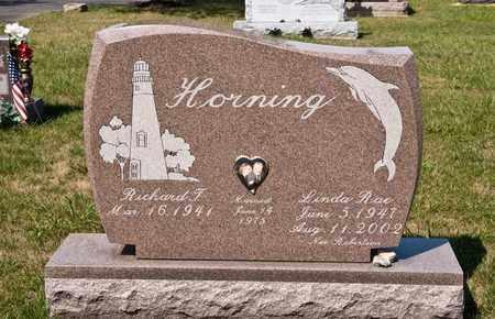 HORNING, LINDA RAE - Richland County, Ohio | LINDA RAE HORNING - Ohio Gravestone Photos