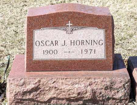 HORNING, OSCAR J - Richland County, Ohio   OSCAR J HORNING - Ohio Gravestone Photos