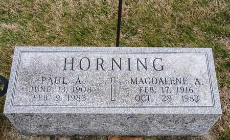HORNING, MAGDALENE A - Richland County, Ohio | MAGDALENE A HORNING - Ohio Gravestone Photos