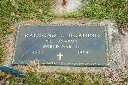 HORNING, RAYMOND C - Richland County, Ohio | RAYMOND C HORNING - Ohio Gravestone Photos
