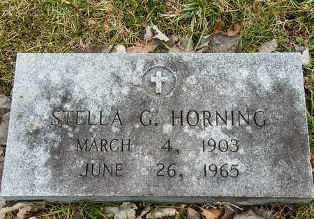 HORNING, STELLA G - Richland County, Ohio | STELLA G HORNING - Ohio Gravestone Photos