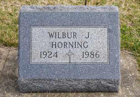 HORNING, WILBUR J - Richland County, Ohio   WILBUR J HORNING - Ohio Gravestone Photos