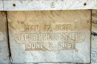 HOUFSTATER, JACOB P - Richland County, Ohio   JACOB P HOUFSTATER - Ohio Gravestone Photos