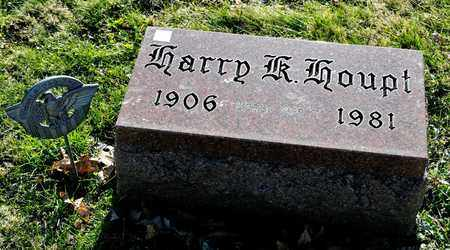 HOUPT   JR, HARRY K - Richland County, Ohio | HARRY K HOUPT   JR - Ohio Gravestone Photos