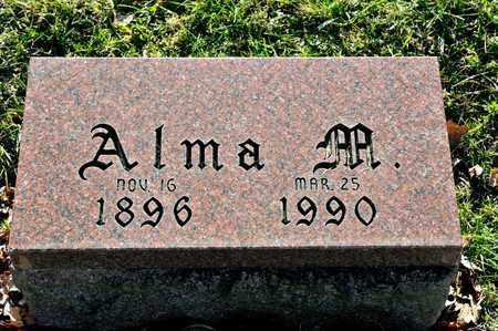 HOUPT, ALMA M - Richland County, Ohio | ALMA M HOUPT - Ohio Gravestone Photos