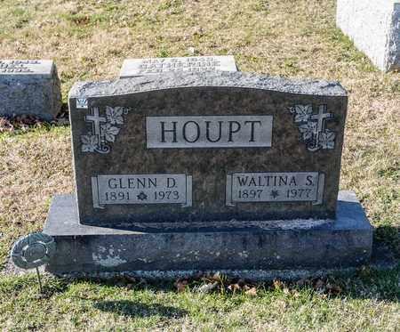 HOUPT, WALTINA S - Richland County, Ohio | WALTINA S HOUPT - Ohio Gravestone Photos