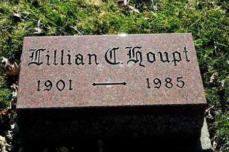 HOUPT, LILLIAN C - Richland County, Ohio   LILLIAN C HOUPT - Ohio Gravestone Photos