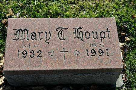 HOUPT, MARY T - Richland County, Ohio | MARY T HOUPT - Ohio Gravestone Photos