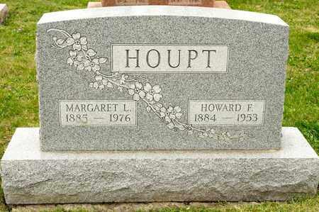 HOUPT, HOWARD F - Richland County, Ohio | HOWARD F HOUPT - Ohio Gravestone Photos