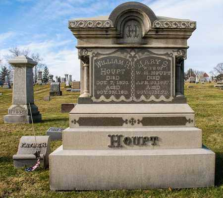 HOUPT, MARY S - Richland County, Ohio   MARY S HOUPT - Ohio Gravestone Photos