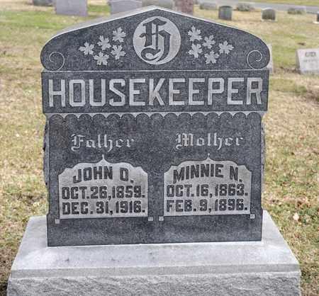 HOUSEKEEPER, MINNIE N - Richland County, Ohio | MINNIE N HOUSEKEEPER - Ohio Gravestone Photos