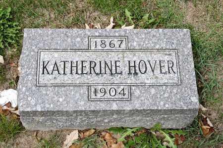 HOVER, KATHERINE - Richland County, Ohio | KATHERINE HOVER - Ohio Gravestone Photos