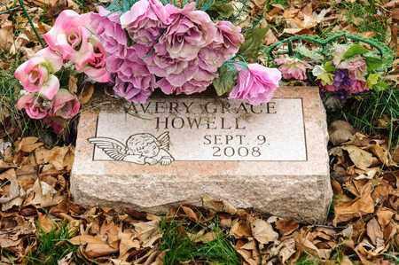 HOWELL, AVERY GRACE - Richland County, Ohio | AVERY GRACE HOWELL - Ohio Gravestone Photos