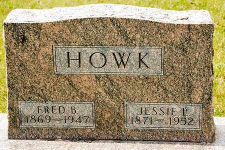HOWK, FRED B - Richland County, Ohio | FRED B HOWK - Ohio Gravestone Photos