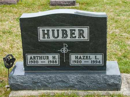 HUBER, ARTHUR H - Richland County, Ohio | ARTHUR H HUBER - Ohio Gravestone Photos