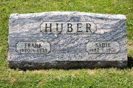 HUBER, SADIE - Richland County, Ohio | SADIE HUBER - Ohio Gravestone Photos