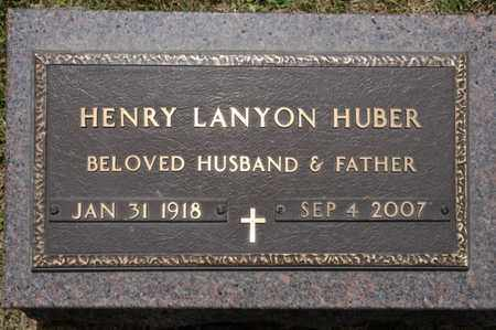 HUBER, HENRY LANYON - Richland County, Ohio | HENRY LANYON HUBER - Ohio Gravestone Photos