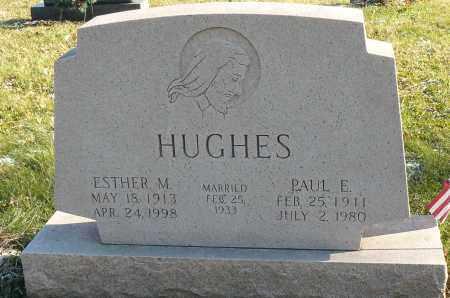 DOTY HUGHES, ESTHER - Richland County, Ohio   ESTHER DOTY HUGHES - Ohio Gravestone Photos