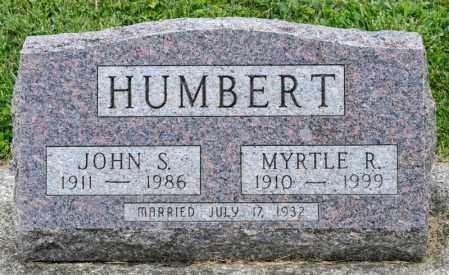 HUMBERT, JOHN S - Richland County, Ohio | JOHN S HUMBERT - Ohio Gravestone Photos