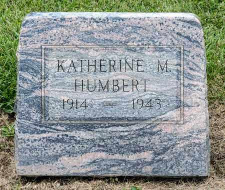 HUMBERT, KATHERINE M - Richland County, Ohio   KATHERINE M HUMBERT - Ohio Gravestone Photos