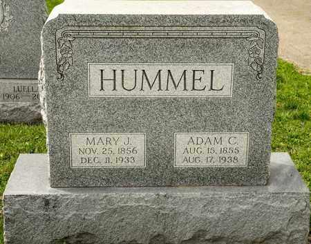 HUMMEL, ADAM C - Richland County, Ohio | ADAM C HUMMEL - Ohio Gravestone Photos