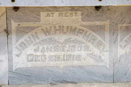 HUMPHREY, JOHN W - Richland County, Ohio | JOHN W HUMPHREY - Ohio Gravestone Photos