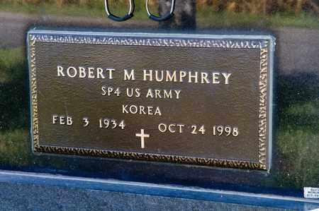 HUMPHREY, ROBERT M - Richland County, Ohio   ROBERT M HUMPHREY - Ohio Gravestone Photos