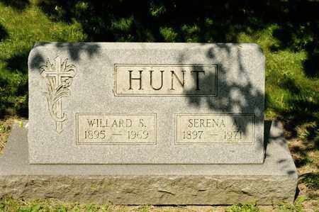 HUNT, WILLARD S - Richland County, Ohio | WILLARD S HUNT - Ohio Gravestone Photos