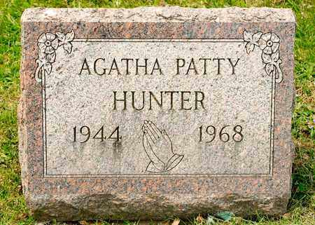 HUNTER, AGATHA PATTY - Richland County, Ohio | AGATHA PATTY HUNTER - Ohio Gravestone Photos