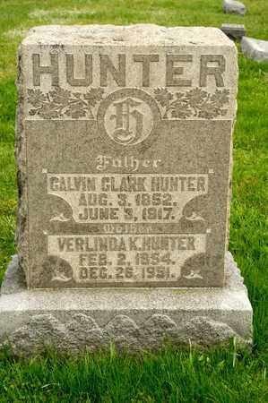 HUNTER, CALVIN CLARK - Richland County, Ohio | CALVIN CLARK HUNTER - Ohio Gravestone Photos