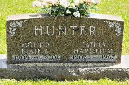 HUNTER, HAROLD M - Richland County, Ohio | HAROLD M HUNTER - Ohio Gravestone Photos