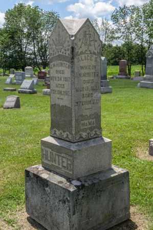HUNTER, ALICE E - Richland County, Ohio | ALICE E HUNTER - Ohio Gravestone Photos