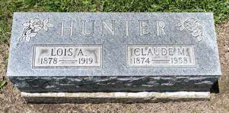HUNTER, CLAUDE M - Richland County, Ohio | CLAUDE M HUNTER - Ohio Gravestone Photos