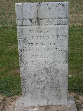 HUNTER, MARGARET ANN - Richland County, Ohio | MARGARET ANN HUNTER - Ohio Gravestone Photos