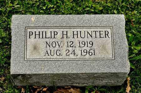HUNTER, PHILIP H - Richland County, Ohio | PHILIP H HUNTER - Ohio Gravestone Photos