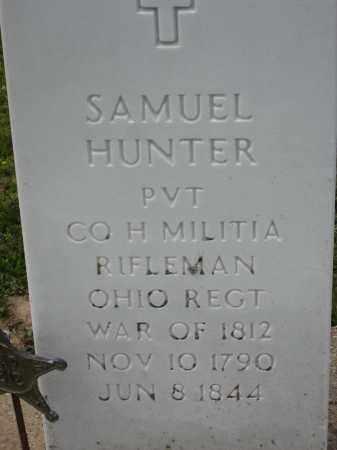 HUNTER, SAMUEL - Richland County, Ohio   SAMUEL HUNTER - Ohio Gravestone Photos