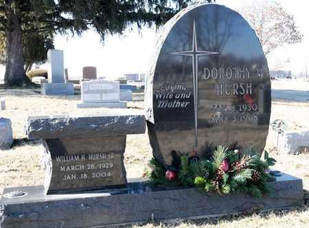 HURSH, DOROTHY M - Richland County, Ohio | DOROTHY M HURSH - Ohio Gravestone Photos