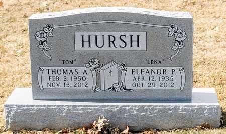 HURSH, ELEANOR P - Richland County, Ohio | ELEANOR P HURSH - Ohio Gravestone Photos