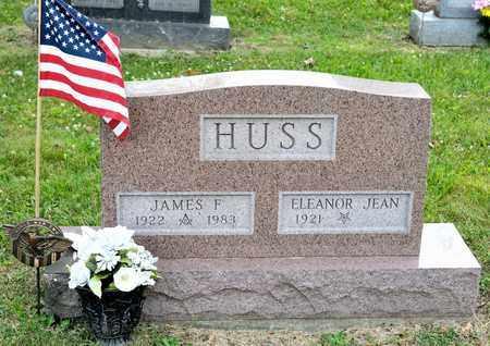 HUSS, JAMES F - Richland County, Ohio   JAMES F HUSS - Ohio Gravestone Photos