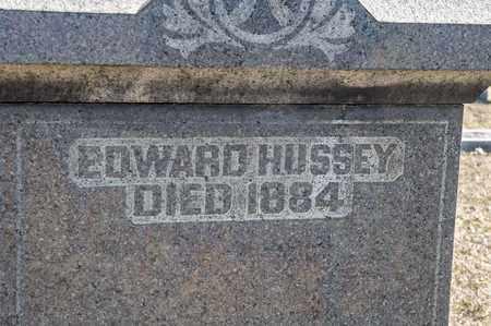 HUSSEY, EDWARD - Richland County, Ohio   EDWARD HUSSEY - Ohio Gravestone Photos