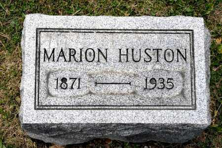 HUSTON, MARION - Richland County, Ohio | MARION HUSTON - Ohio Gravestone Photos