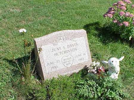 HUTCHINSON, JUNE L. - Richland County, Ohio   JUNE L. HUTCHINSON - Ohio Gravestone Photos