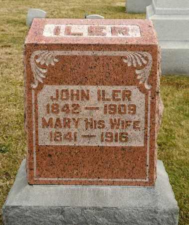 ILER, JOHN - Richland County, Ohio | JOHN ILER - Ohio Gravestone Photos
