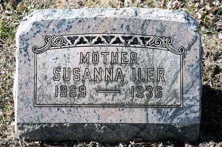 ILER, SUSANNA - Richland County, Ohio   SUSANNA ILER - Ohio Gravestone Photos