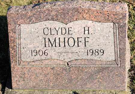 IMHOFF, CLYDE H - Richland County, Ohio   CLYDE H IMHOFF - Ohio Gravestone Photos