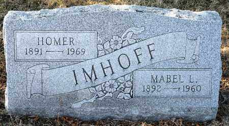 IMHOFF, HOMER - Richland County, Ohio | HOMER IMHOFF - Ohio Gravestone Photos