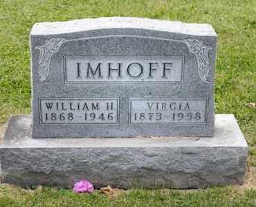 IMHOFF, WILLIAM H - Richland County, Ohio | WILLIAM H IMHOFF - Ohio Gravestone Photos