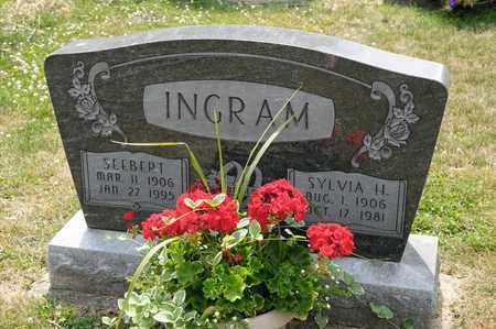 INGRAM, SYLVIA H - Richland County, Ohio | SYLVIA H INGRAM - Ohio Gravestone Photos