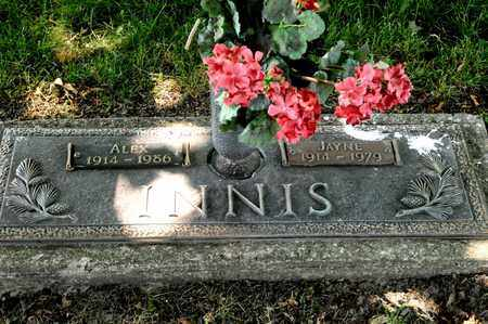 INNIS, JAYNE - Richland County, Ohio | JAYNE INNIS - Ohio Gravestone Photos